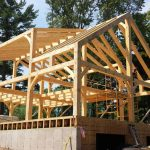 custom timber frame skeleton