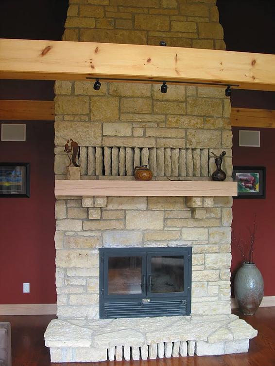 Galena Il Custom Oak Staircase And Home Custom Timber