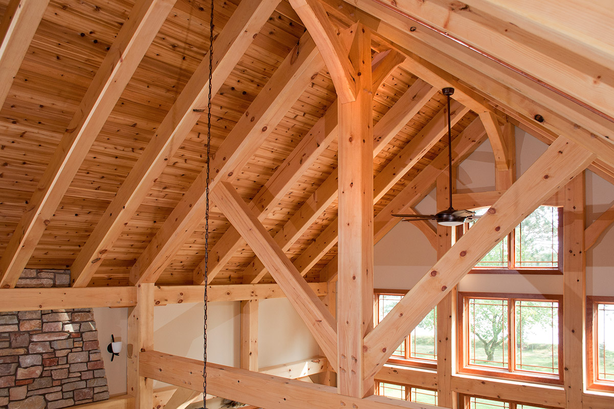 Timber Frame Construction Handcrafted By Custom Timber