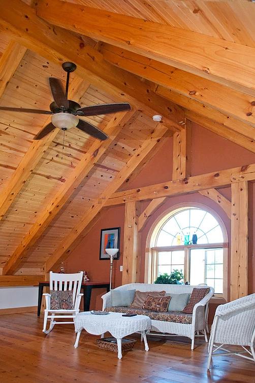 Wausau Wisconsin Custom Timber Home Custom Timber Frames