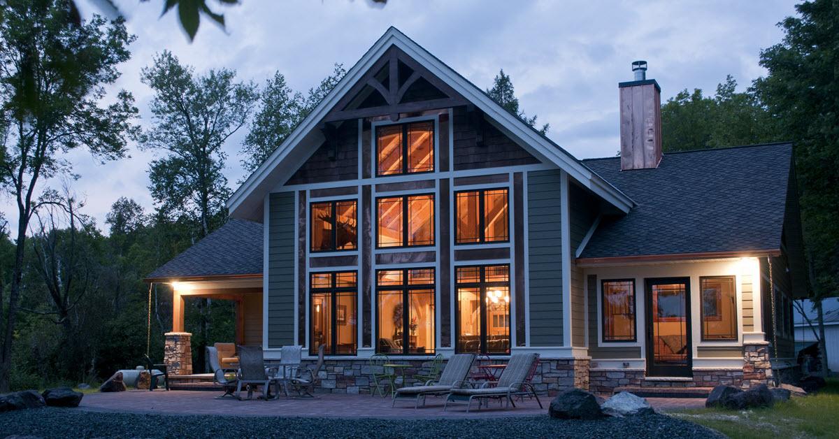 Custom Timber Frame Hunting Retreat In Wisconsin