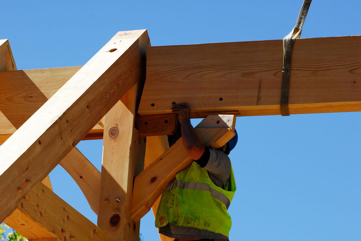 Bayfield Wi Custom Design House Custom Timber Frames