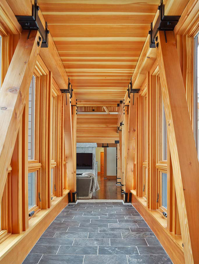 Modern Timber Frame Design - Custom Timber Frames
