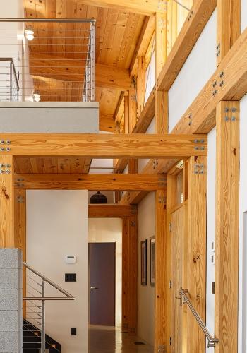 Modern Timber Frame Design